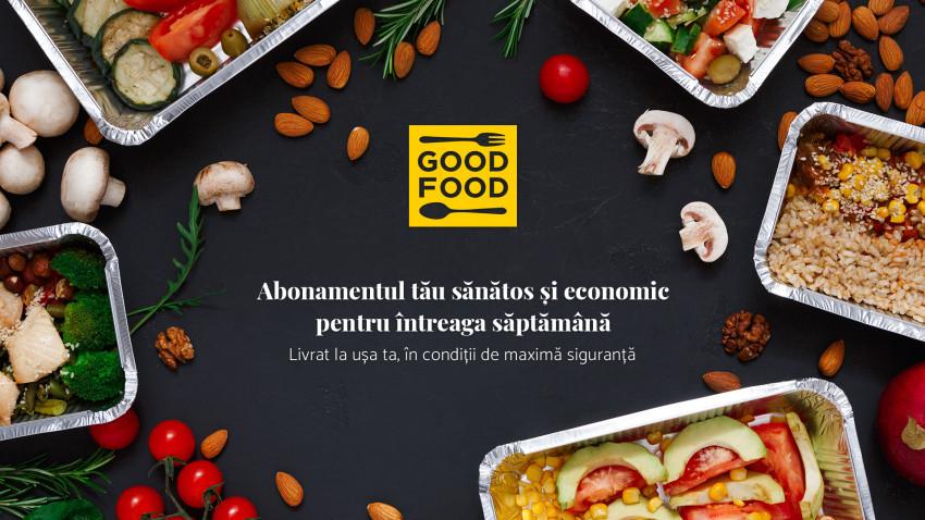 GOOD-FOOD.ro, serviciu de livrare al mâncării lansat în plină pandemie, vine cu o nouă abordare, mai flexibilă