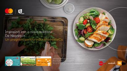 """Mastercard lansează, alături de Edenred, Sodexo și Up România și în parteneriat cu Qriser, inițiativa """"HoReCa Împreună"""""""