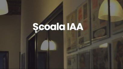 """Școala IAA își adaptează cursurile """"noii normalități"""": module hibrid, on & offline"""