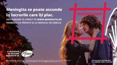 Tuio și Pfizer lansează o amplă campanie națională de educare a tinerilor și părinților despre pericolul meningitei meningococice