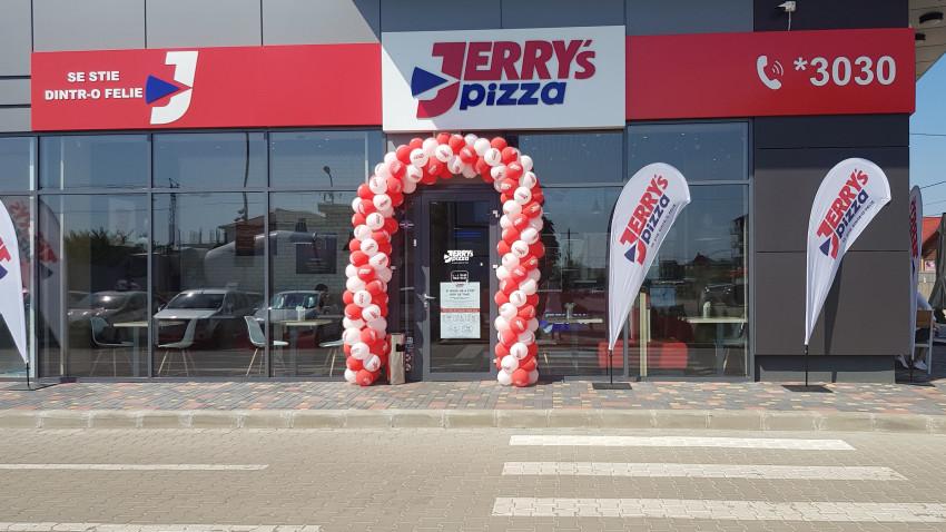 Jerry's Pizza și-a extins lanțul de magazine și a investit peste 140.000 de euro într-o nouă unitate