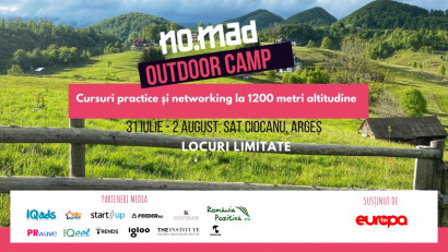Cursuri practice și networking informal pentru freelanceri la NO.MAD Outdoor Camp