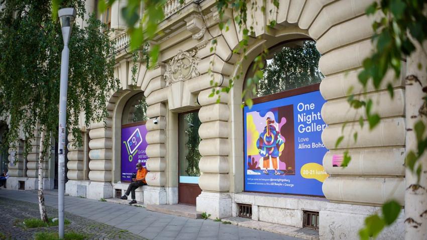 Cea de-a 14-a ediție One Night Gallery devine expoziție itinerantăși va avea loc și la Timișoara