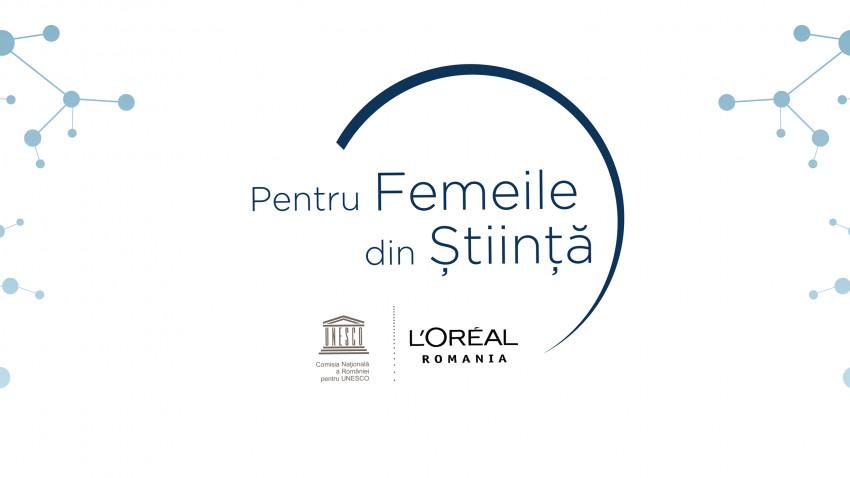 """Competiția """"L'Oréal-UNESCO Pentru Femeile din Știință"""" mărește limita de vârstă la 40 de ani și valoarea unei burse la 47.000 lei. Înscrierile încep pe 15 iulie"""