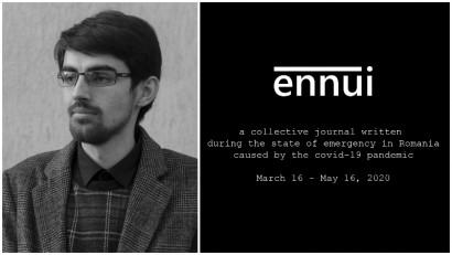 Cosmin Tița și un jurnal colectiv de pandemie: Nu mi-am dorit texte frumoase și poetice, ci gânduri sincere și sentimente ascunse