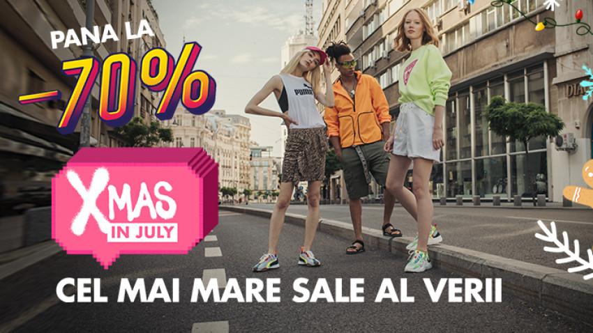 Leo Burnett București și Fashion Days au lansat cel mai mare sale al verii - Xmas in July