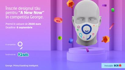 "Creează masca anului. ""A New Now"" Design Challenge by George"