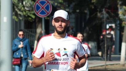 Andrei Ganja aleargă 2000 de km în 90 de zile: Într-un maraton, mai mult depinde de creier decât de picioare