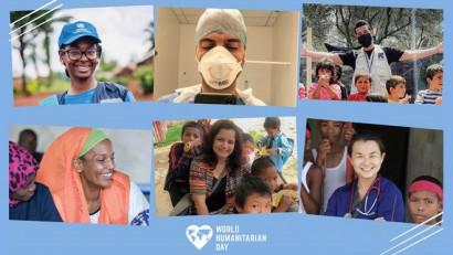 IAA și Națiunile Unite aduc tribut celor din linia întâi, de Ziua Mondială a Umanității