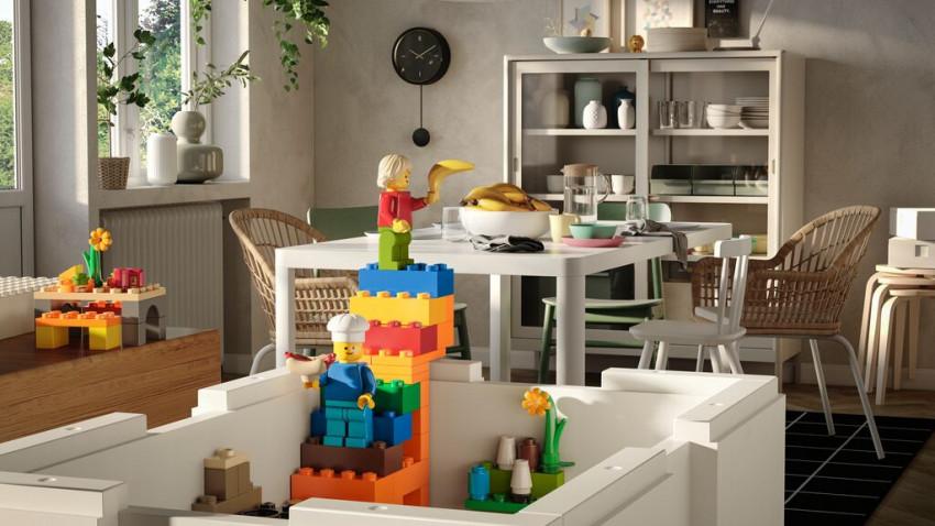 Te joci, te bucuri și o iei de la capăt: IKEA® și LEGO Group lansează BYGGLEK – o soluție creativă care conectează jocul și depozitarea