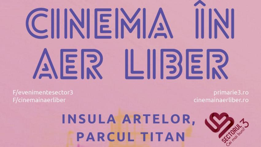 Un nou sezon de Cinema în aer liber, în Parcul Titan din București