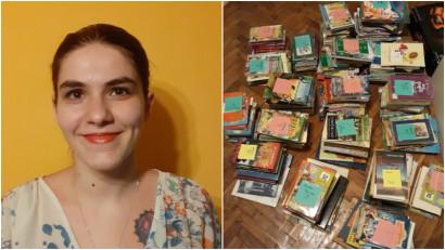 Ioana Cartarescu-Petrica: Biblioteca de cartier a luat nastere in vara lui 2019. Era un fiset metalic cu 3 sertare care a locuit in fata portii noastre