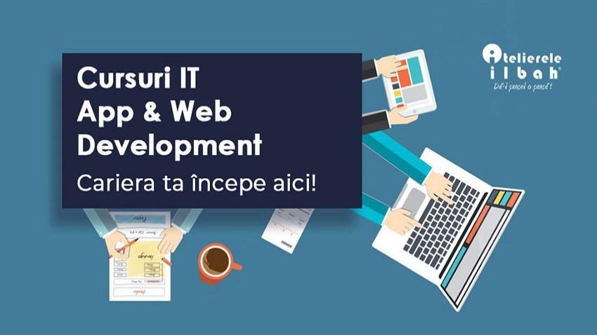Atelierele ILBAH lanseaza cursuri de IT – App & Web Development