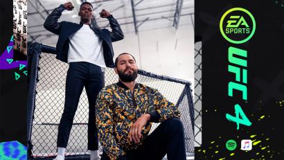 Noua coloană sonoră EA SPORTS UFC 4 îi aduce împreună pe Eminem, J. Cole și Wiz Khalifa