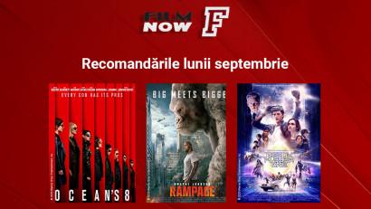 Film Now continuă seria superproducțiilor și în luna septembrie