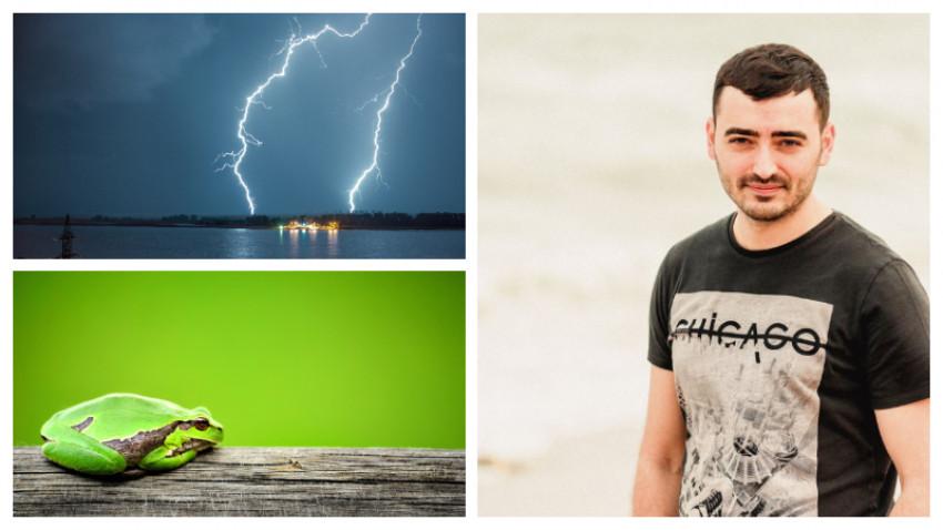 [Povesti de fotografi] Florin Gîlcanu, vânătorul de furtuni: A fost dragoste la primul fulger