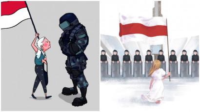 Creativitatea ca declarație politică. Protestele din Belarus