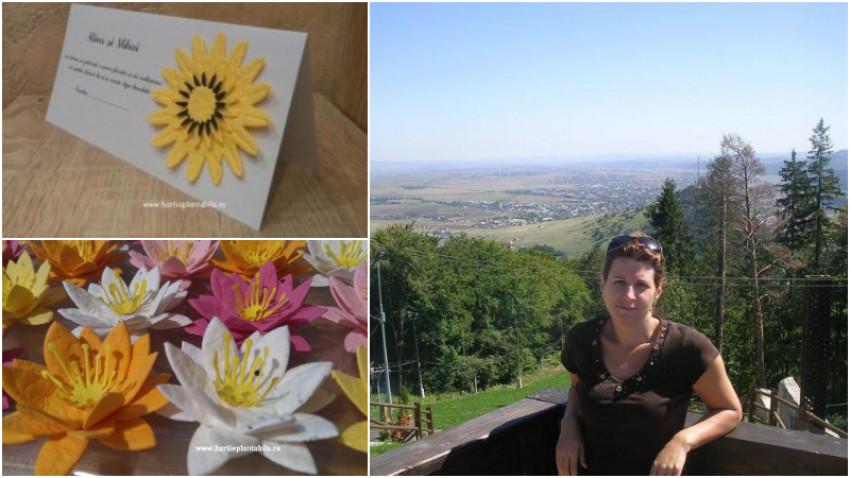 Petronela Prunianu: Fiecare bucățică de hârtie plantabilă conține o întreagă grădină