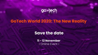 GoTech World, evenimentul de referință al profesioniștilor interesați de digitalizare se desfășoară exclusiv online pe 11-12 noiembrie