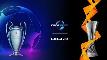 Spectacolul UEFA Champions League și UEFA Europa League revine, în direct, la Digi Sport și Digi 4K