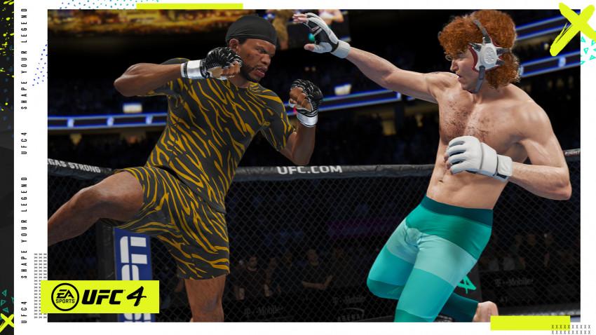 EA SPORTS UFC 4 a dezvăluit clasamentul celor mai buni 10 luptători din joc