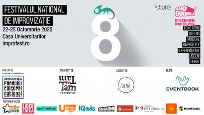 Festivalul Național de Improvizație revine între 22-25 octombrie la București
