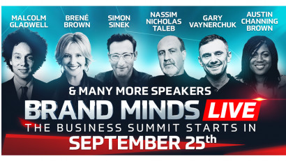 Experience BRAND MINDS LIVE's Virtual Stage
