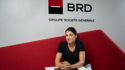 Cristina Neagu, cea mai bună jucătoare de handbal din lume, este noul ambasador al BRD Groupe Société Générale