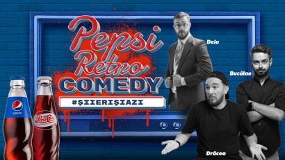 [Retro Vibes] Trei comedianti se intorc in timp si aduc umorul de #IeriSiAzi la Pepsi Retro Comedy