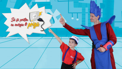 Family Hub cu supereroi, pentru mai multă energie acasă