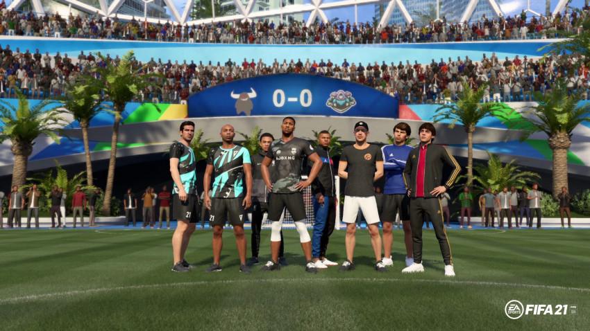 FIFA 21 anunță vestimentații și personaje noi în VOLTA, printre care Diplo și Anthony Joshua