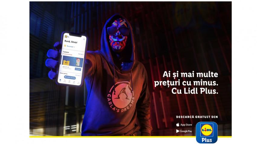 Lidl lansează aplicația mobilă Lidl Plus, cu ajutorul personajului Plus, un hacker interpretat de Carla`s Dreams