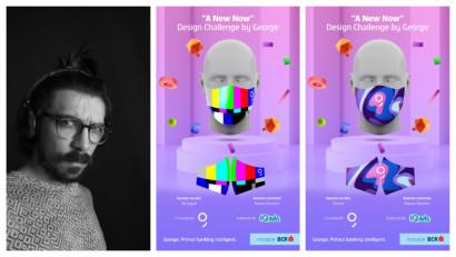 [A New Now] Răzvan Dumitru: Am vazut în mască potențialui unui mediu de exprimare artistic, un canvas