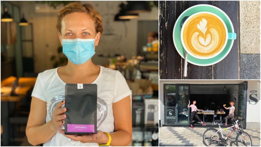 [Optimism de business] Simona Croitoru, Saint Roastery: Aceasta criza a fost cel mai bun catalizator pentru noi de a iesi din confortul cafenelei si sa fim inovativi