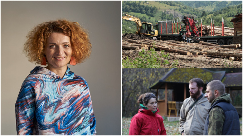 Monica Lăzurean-Gorgan, regizoare LEMN: Sunt fascinata de oamenii din interiorul sistemului care se lupta cu sistemul