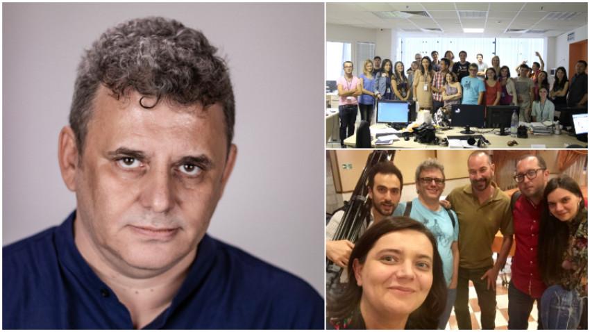[Voci online] Iulian Comănescu: România o percep în primul rând prin Facebook. Când am venit la Bruxelles, am luat-o cu mine, sub formă de bulă