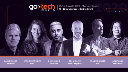 Experți de la Amazon, PwC, McAfee, FedEx Express, IBM și Microsoft au confirmat prezența pe scenele GoTech World 2020: The New Reality
