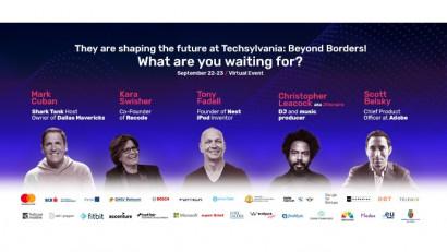 Participanți din 67 de țări, o nouă perspectivă a viitorului și o investiție de €150.000 pentru câștigătorul Startup Avalanche, la prima ediție virtuală a evenimentului Techsylvania