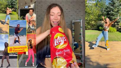 #SavureazaFiecareZi: Lay`s a dat volumul la maxim pe TikTok cu o provocare la dans
