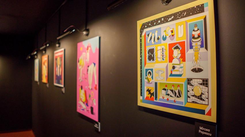 Expoziții dezvoltate de George și One Night Gallery, de vizitat până pe 20 septembrie la Art Safari