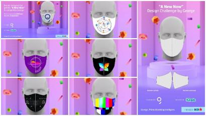"""Cum arata masca lui 2020? Ultimele trei zile de inscrieri la """"A New Now"""" Design Challenge by George"""