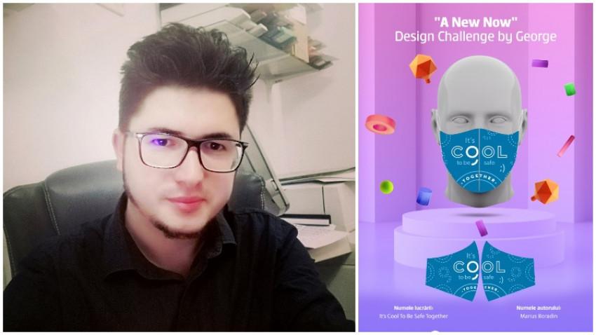 [A New Now] Marius Boradin: Masca trebuie să transmită cât mai bine un mesaj de speranță al conexiunii sociale