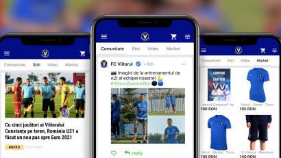 FC Viitorul și-a lansat aplicația mobilă