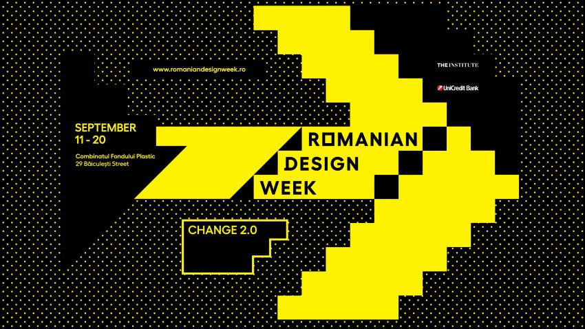 Începe Romanian Design Week 2020, o ediție sub semnul SCHIMBĂRII
