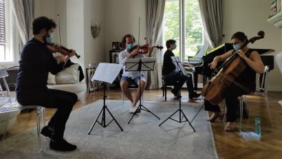 Concert al bursierilor SoNoRo Interferențe 2020la Castelul Cantacuzino din Bușteni
