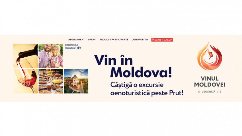 Godmother semnează campania de digital - BTL pentru Wine of Moldova care va trimite 100 de români să descopere magia vinului de peste Prut