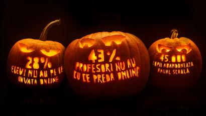 De Halloween, Salvați Copiii sperie România cu cifre, nu cu monștri