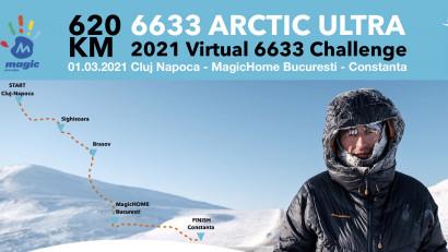 Vlad aleargă 620 km,la 6633 Arctic Ultra 2021