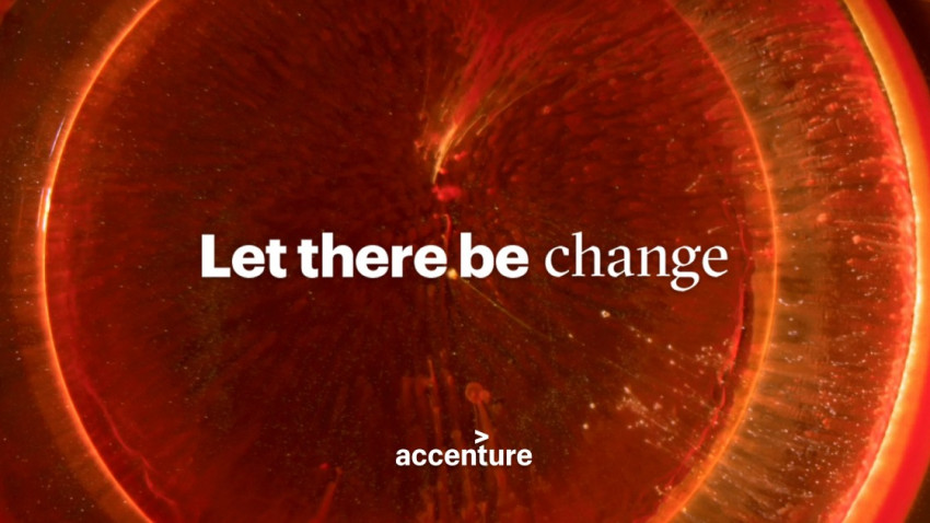 """Accenture lansează cea mai amplă campanie de brand din ultimul deceniu: """"Let there be change"""""""