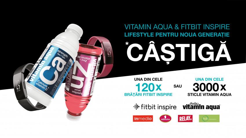 Vitamin Aqua & Fitbit Inspire - Lifestyle pentru noua generație